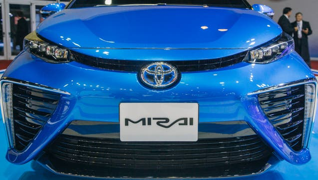 Toyota Salón del automóvil 2017.