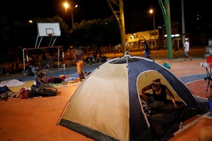 El drama del éxodo, en un campamento improvisado en Cúcuta, Colombia