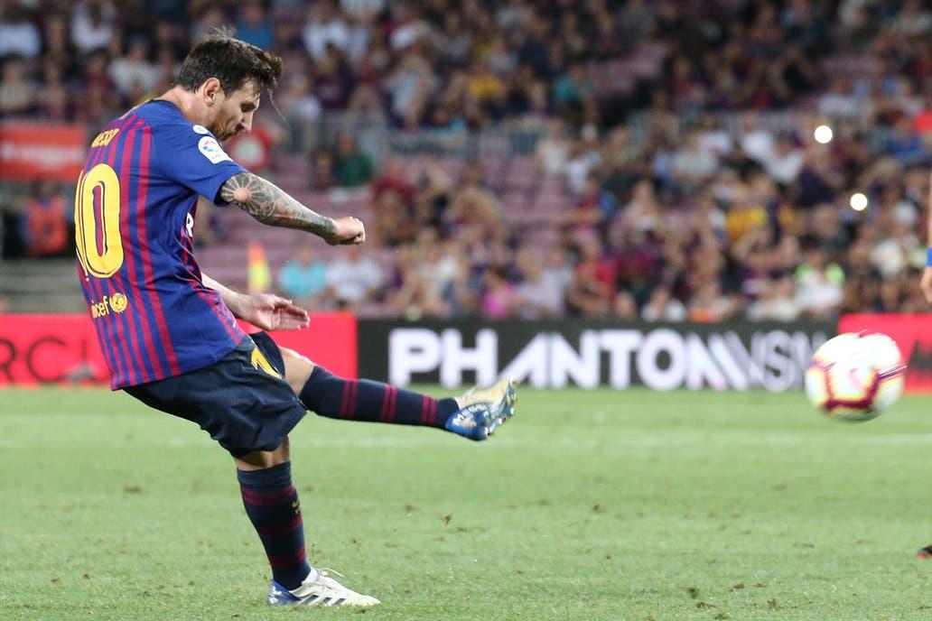 [FOTOS] Leo Messi estará tres semanas de baja tras fracturarse