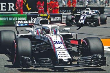 Sirotkin, el piloto que corrió con Williams en 2018.