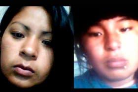 Antonela y Gloria, quiaqueñas de 14 y 16 años, Sus familias aseguran que son victimas de una red de tratas