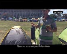 Testimonios de militantes pro  Dilma, a días de la votación