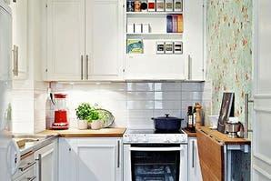 Ideas para decorar una cocina de pocos metros