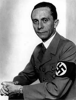 Joseph Goebbels, el temible ministro de Propaganda