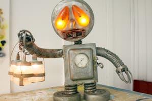 Objetos locos: lámparas divertidas para la casa