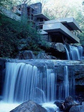 """El American Institute of Architects declaró a Fallingwater """"el mejor trabajo de arquitectura estadounidense de todos los tiempos"""""""