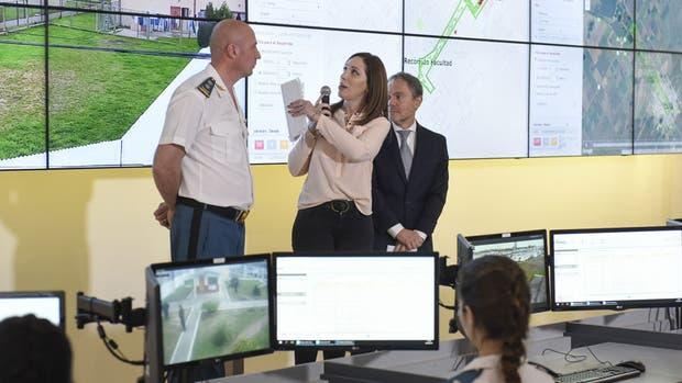 Vidal puso en marcha el centro de monitoreo integral