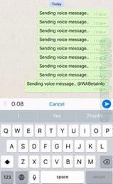Whatsapp prepara un cambio radical para el envío de audios en su mensajero