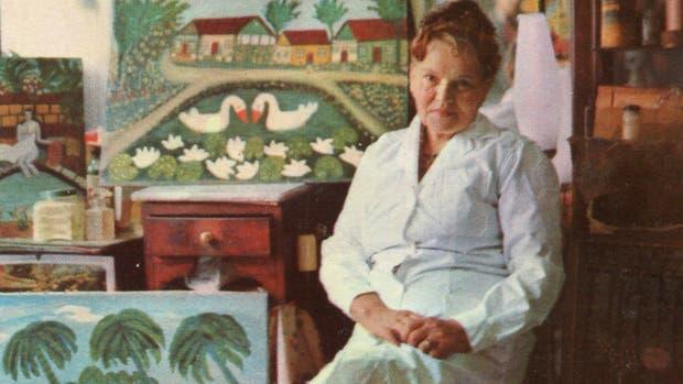 Una pionera. En los años 30, Mujica Lainez fue el cliente célebre de Ana Sokol, peluquera y pintora naíf cuya primera retrospectiva, un merecido rescate artístico, se presentó el sábado