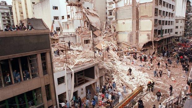 El atentado en la sede de la AMIA fue el 18 de julio de 1994