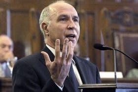 El presdiente de la Corte Suprema de Justicia, Ricardo Lorenzetti