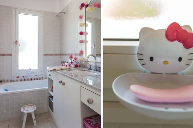 Baños Infantiles Diseno:El Estudio Simple, a cargo del proyecto, propuso una bacha moderna de