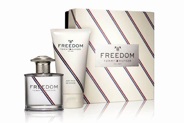Tommy Hilfiger fragancia Freedom 50 ml + Body Wash 150 ml ($410), inspirada en el mar abierto, captura el sentimiento de libertad y transmite el espíritu carpe diem.. Foto: Gentileza Micaela Brandoni