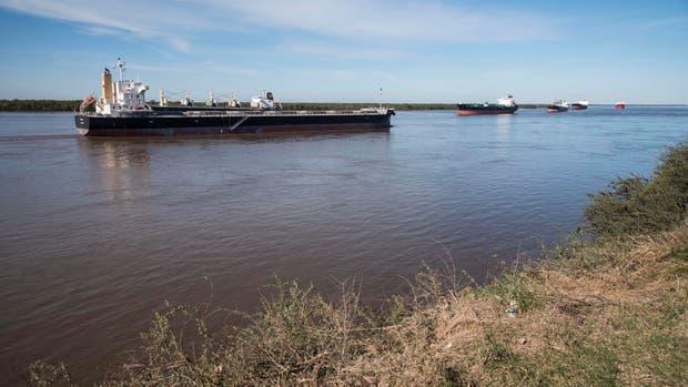 Por el conflicto, los barcos enfrentan demoras para cargar