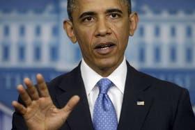 """Obama aseguró que con la utilización de armas químicas, el gobierno de Siria """"cruzó una línea roja"""""""