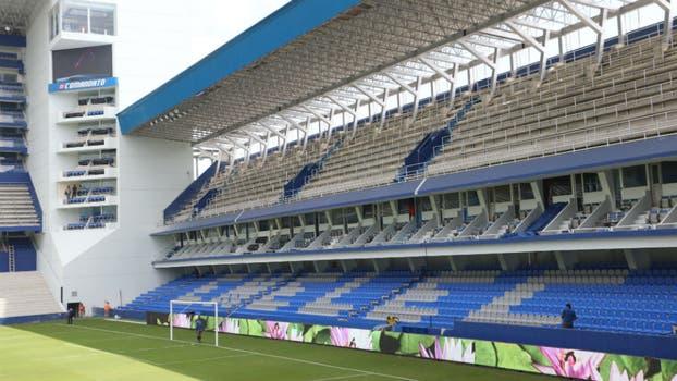 Estadio George Capwell.. Foto: Gentileza EXTRA