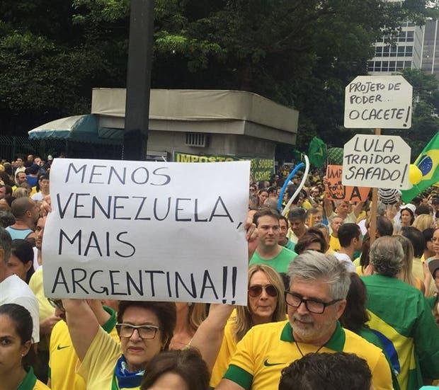 Reclamo: parecerse más a la Argentina, uno de los pedidos