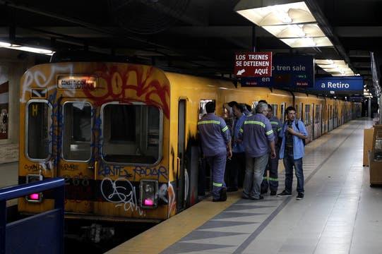 Estación Constitución. Foto: LA NACION / Aníbal Greco