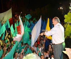 El gobernador Colombi cerró su campaña con un acto en Mercedes, su ciudad natal