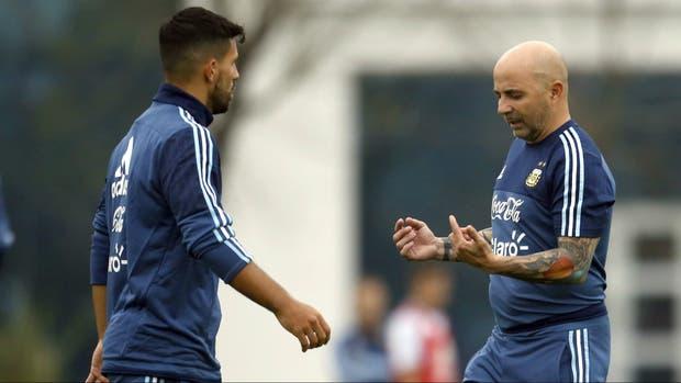Agüero iba a ser titular contra Perú; ahora, Sampaoli tendrá que evaluar otra opción para el ataque