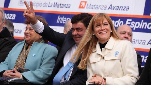 Fernando Espinoza y Verónica Magario