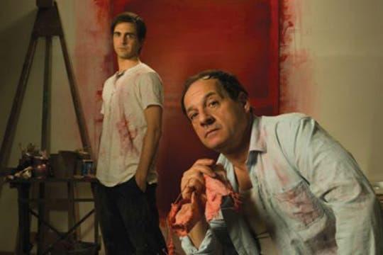 Julio Chávez junto a Gerardo Otero en RED, donde interpreta al artista Mark Rothko. Foto: Archivo