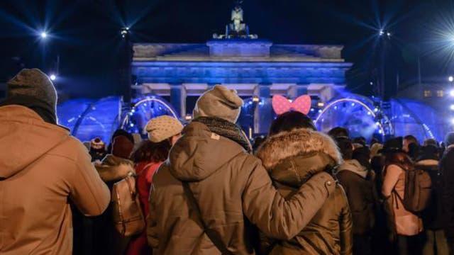 Los festejos en Berlín