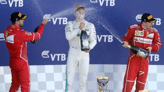 Bottas se metió en escena: también va por el título de la Fórmula 1