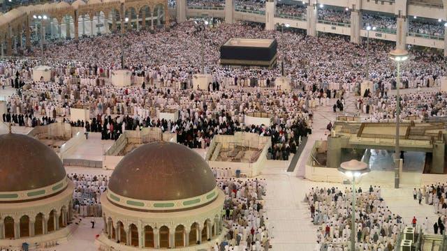 A La Meca se acercan musulmanes de todas partes del mundo, es un camino muy exigente en lo físico y en los espiritual