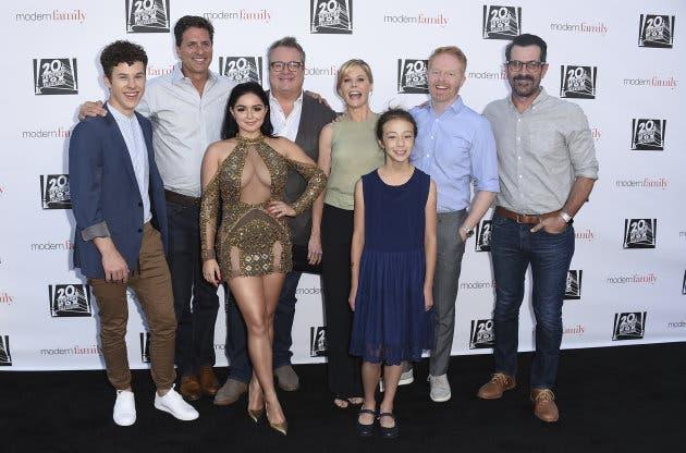 El elenco de Modern Family presentó la octava temporada