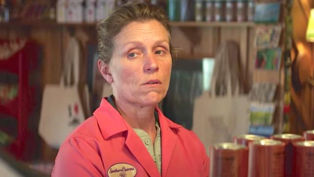 Frances McDormand en Tres anuncios para un crimen