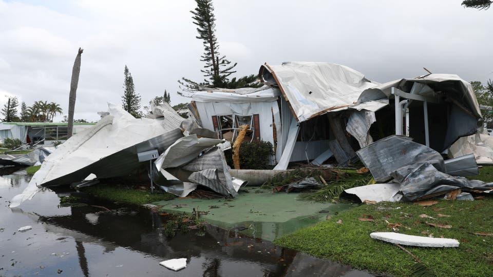 Irma golpeó Florida tras un paso devastador por el Caribe como un huracán de Categoría 5. Foto: Reuters