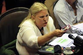 Carrió volvió a criticar a Cristina Fernández de Kirchner