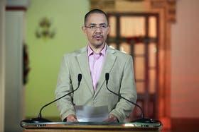El ministro de Comunicación, Ernesto Villegas, fue el principal encargado de difundir las últimas noticias en cadena nacional