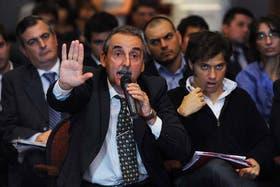 Guillermo Moreno, irrumpió en la asamblea de Clarín el pasado 25 de abril