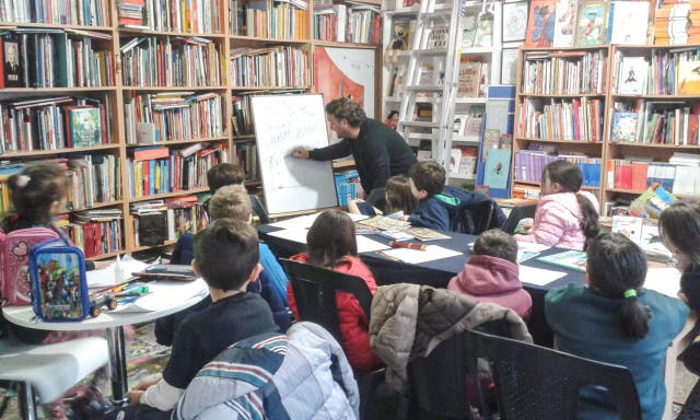 Actividades para chicos en la librería