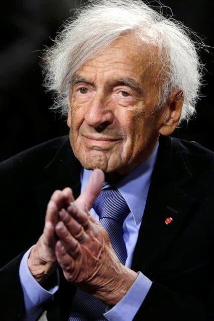 Wiesel, durante una conferencia en 2015