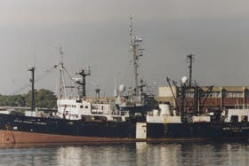 El buque Dr. Eduardo Holmberg