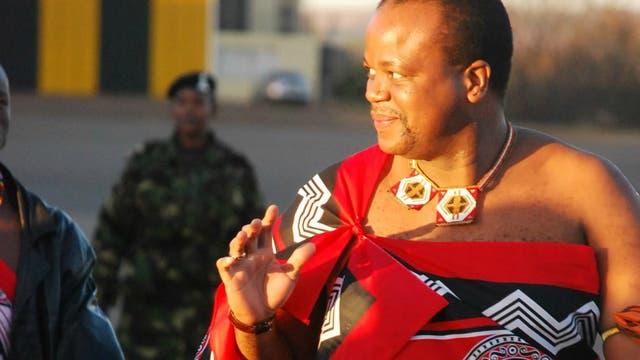 Mswati III, rey de Suazilandia