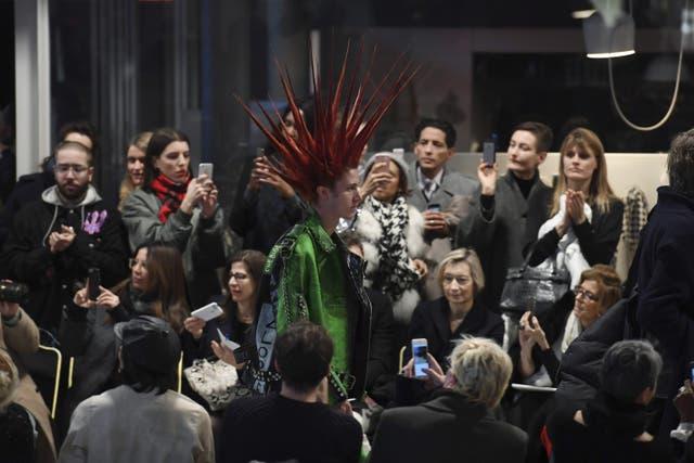 Vetements, en su último desfile en París