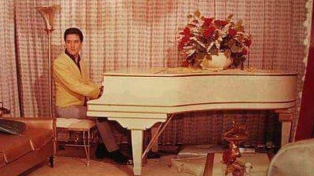 Subastan uno de los pianos de Elvis