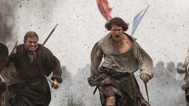Jamie en plena batalla