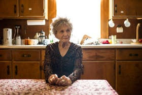 Alice Munro en su casa de Ontario, en junio pasado, cuando anticipó su probable retiro