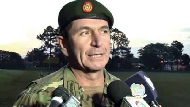 El general de brigada argentino Javier Antonio Pérez Aquino, jefe de la misión de observadores de las Naciones Unidas
