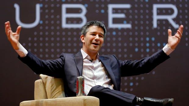 Travis Kalanick, cofundador y CEO de Uber, deajará el cargo en la compañía por tiempo indeterminado