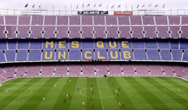 Camp Nou. Sin público, el Barcelona ganó un extraño partido