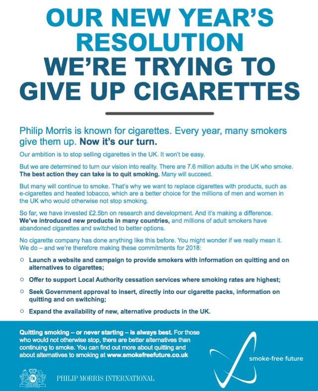 Phillip Morris quiere dejar el cigarrillo para un futuro libre de humo: ¿va camino a su extinción?