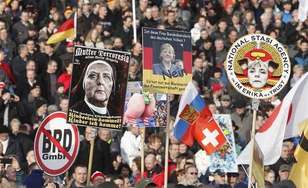 La ultraderecha alemana, contra Merkel