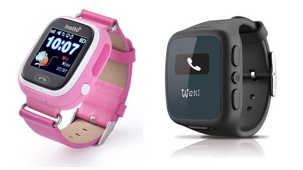 Instto y Weki, dos propuestas de relojes conectados para chicos, que permiten llamadas y monitoreo GPS