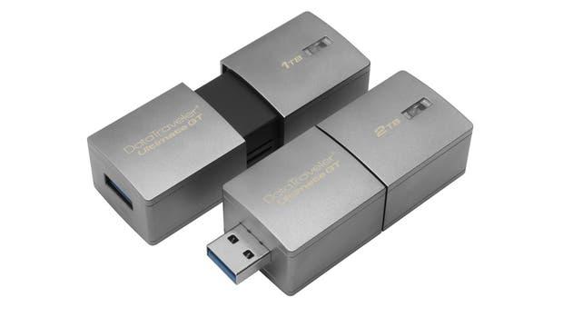 El nuevo pendrive de Kingston tiene 1 o 2 terabytes de capacidad